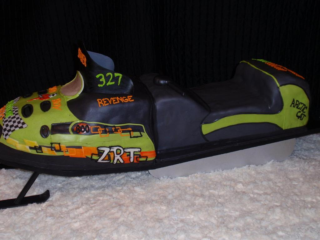 Snowmobile by Dayna Robidoux