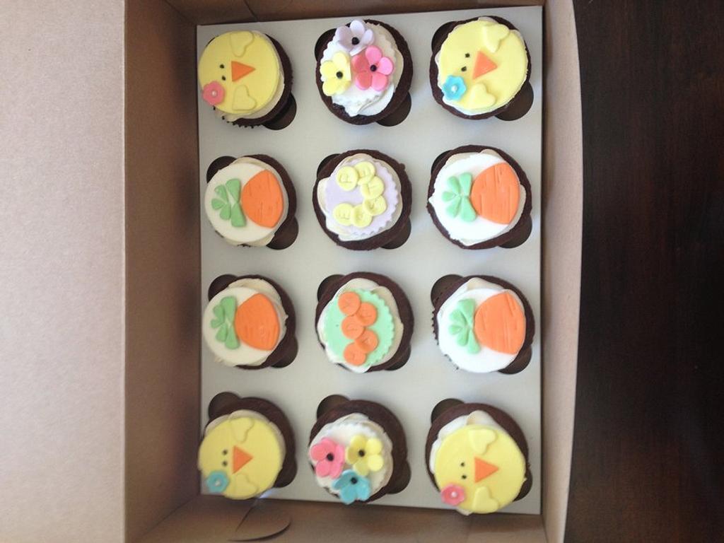 Easter cupcakes by Jennifer Jeffrey