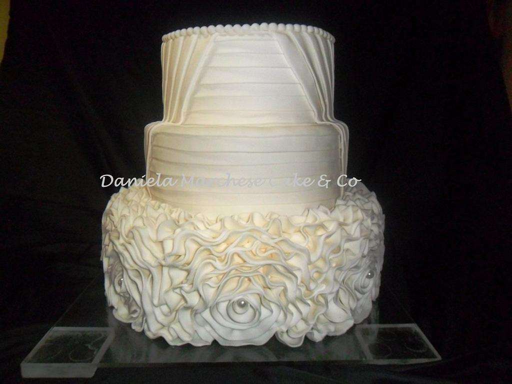 Wedding dress by Daniela Marchese