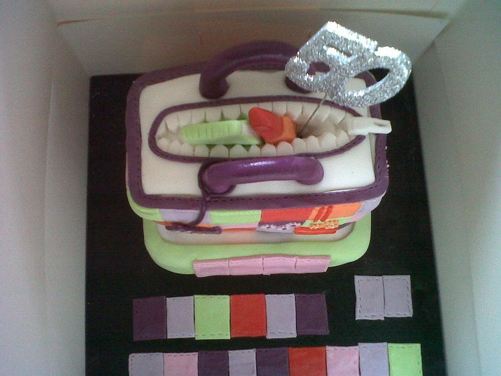 Bag Cake ;) by Little Lovebirds Cakes