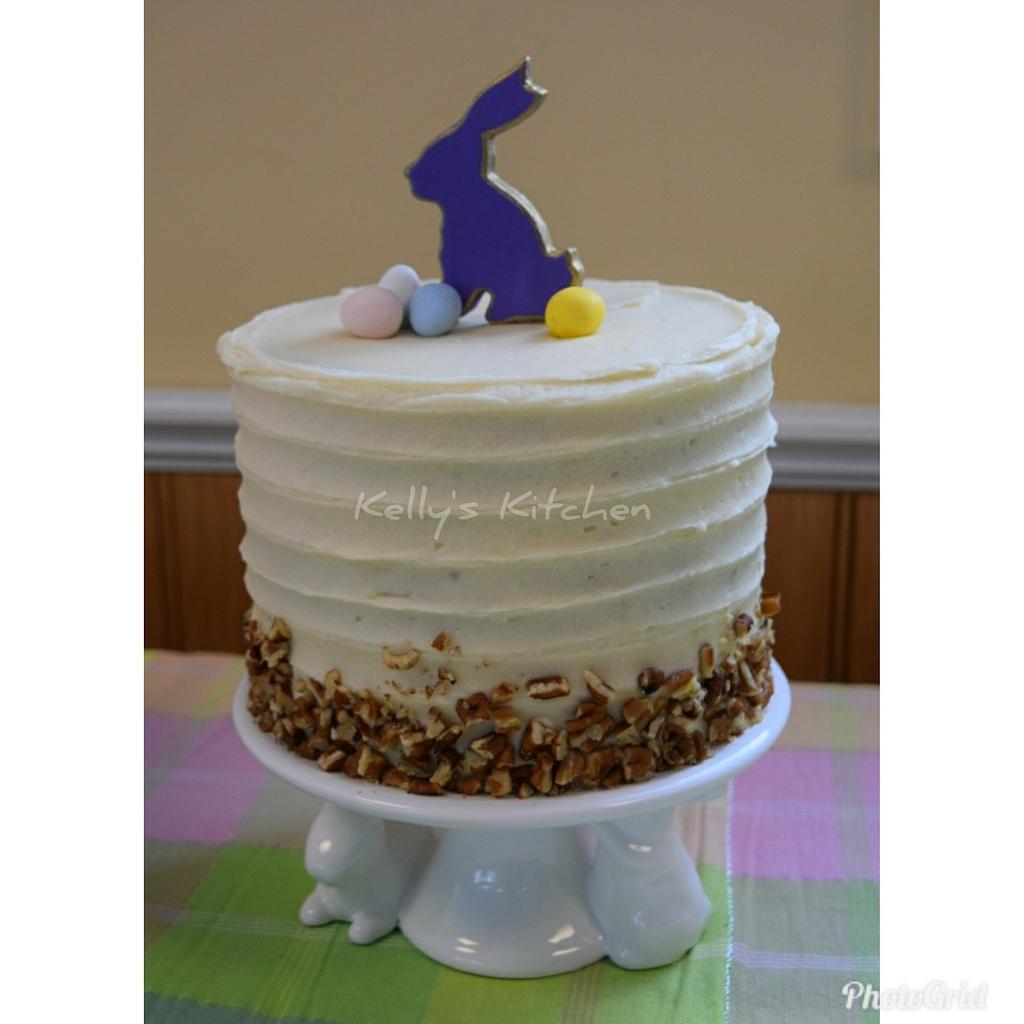 Simple Easter cake by Kelly Stevens