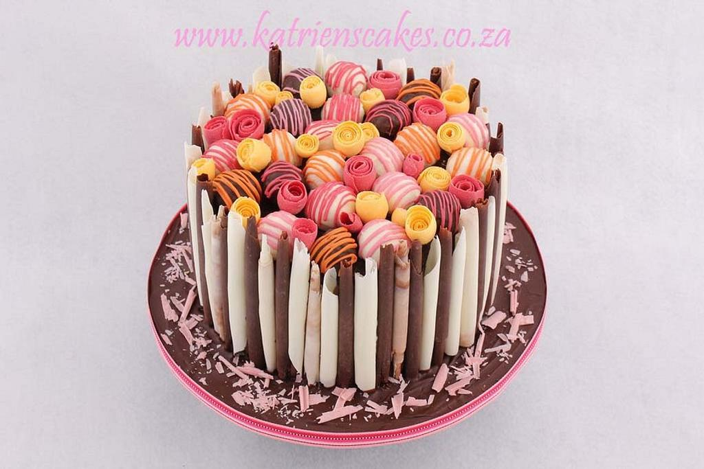 Chocolate Rolls and Truffles by KatriensCakes