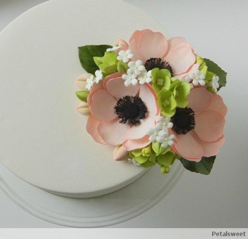 Peach Anemones by Petalsweet