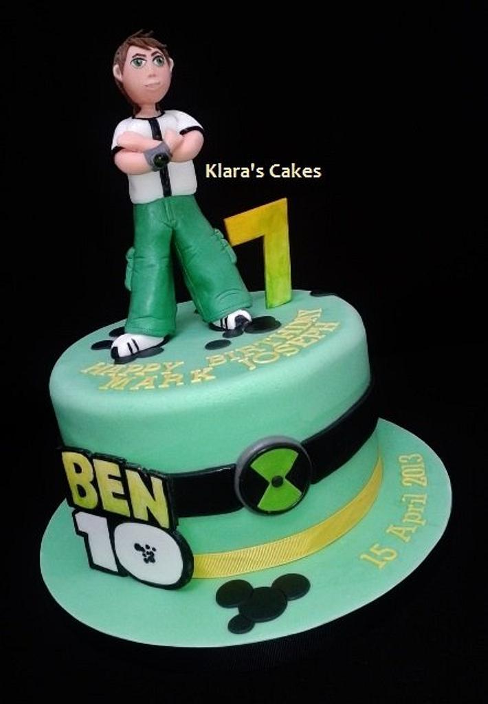 Ben10 is 7 by Klaras Cakes