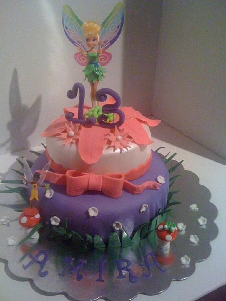 Tinkerbell Cake by DeliciousCreations