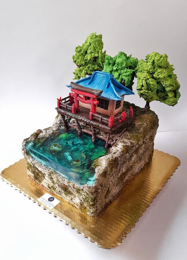 Forgotten shrine jelly cake