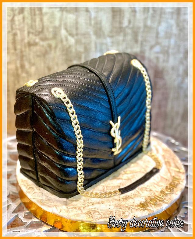 YSL bag cake