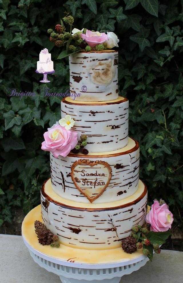 Birktree Weddingcake