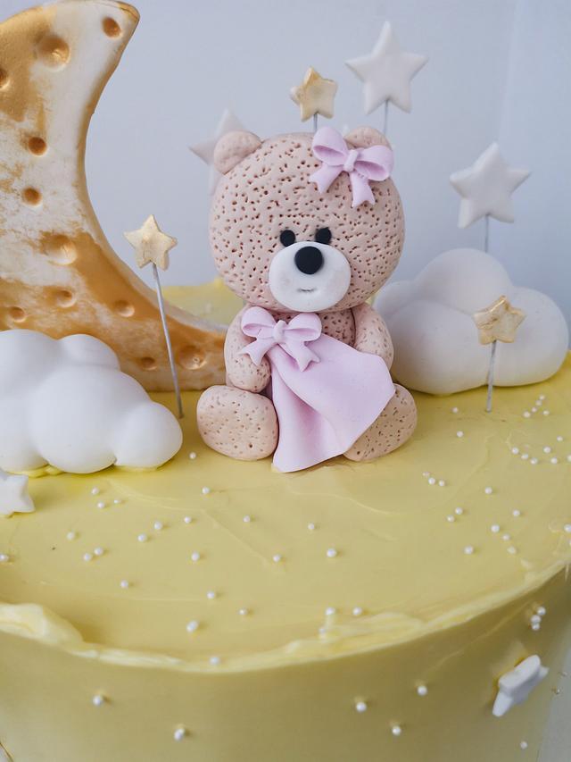 Little bear girl cake