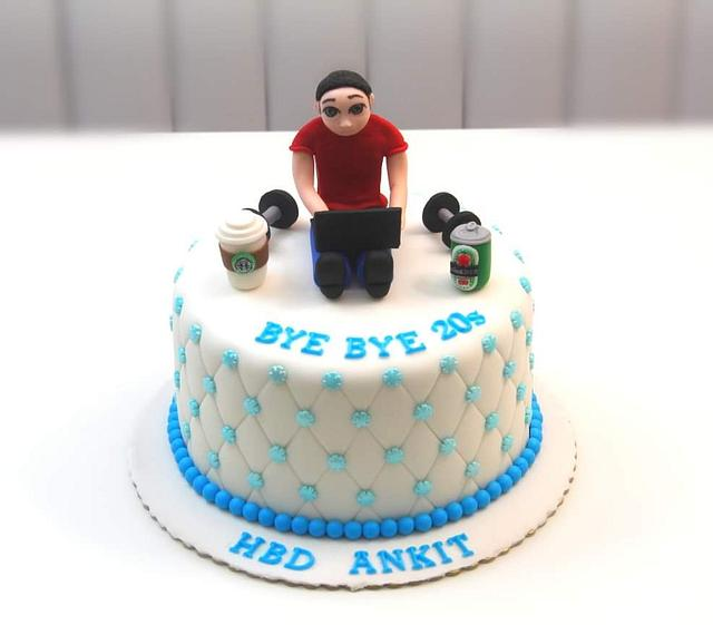 Terrific 30Th Birthday Cake Cake By Shilpa Kerkar Cakesdecor Personalised Birthday Cards Vishlily Jamesorg