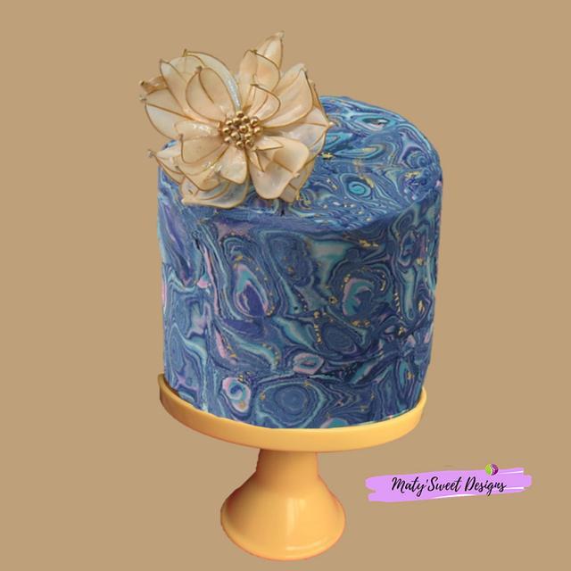 Fordite Cake