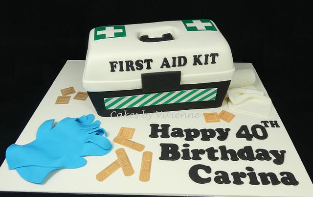 First Aid Cake