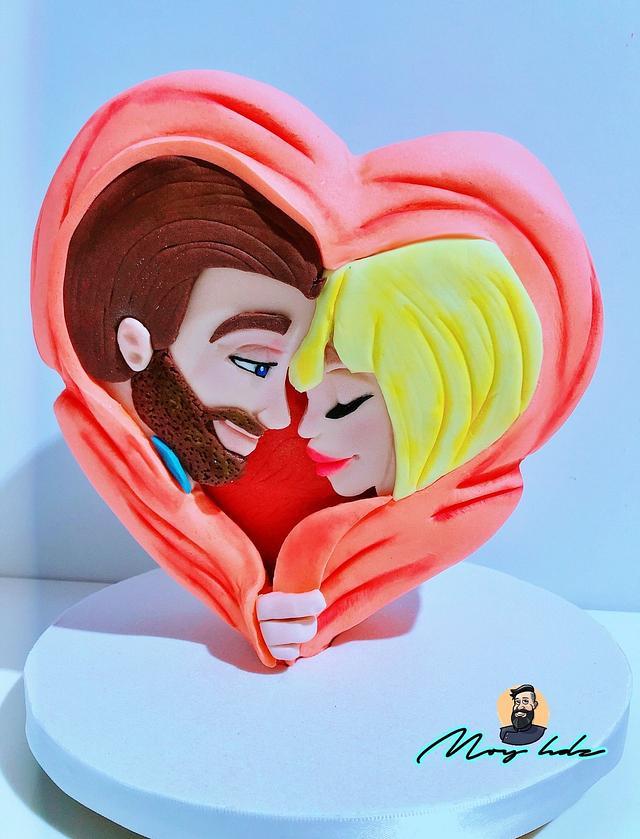 Gravity cake love
