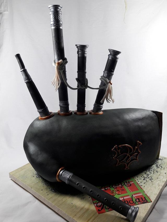 3D Bagpipe Cake