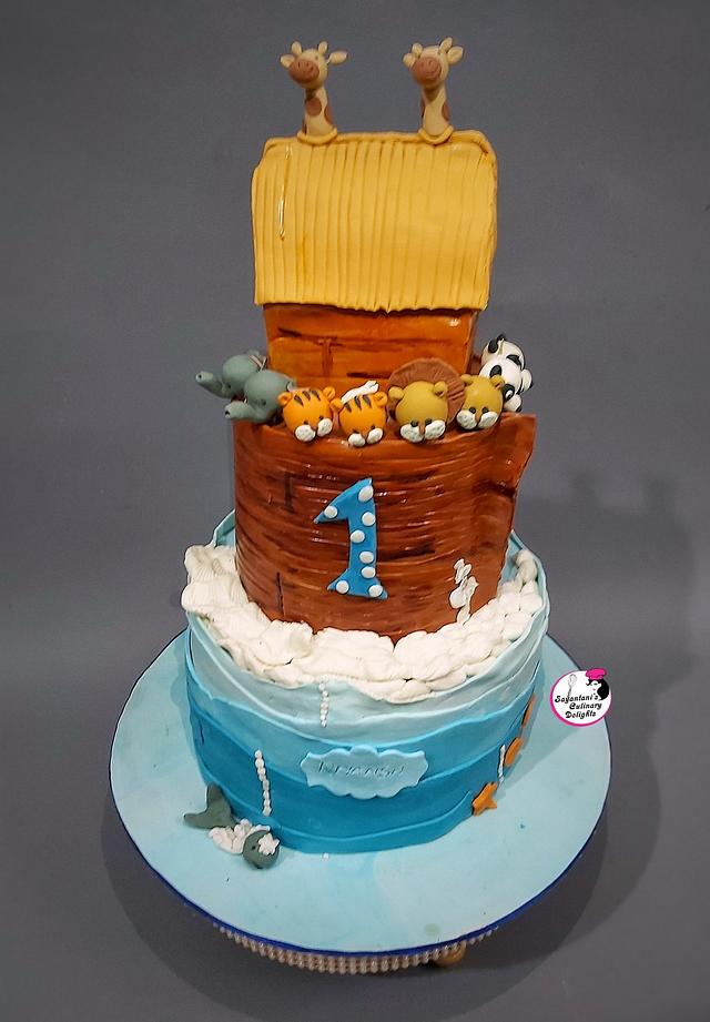 Noah The Ark Cake