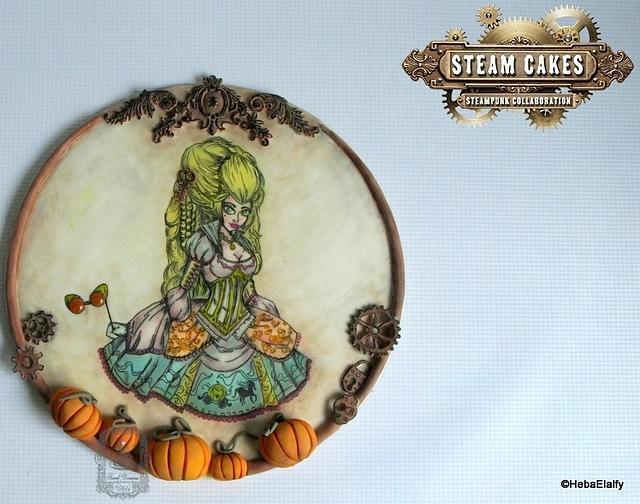 Steam Cakes Steampunk collab - Steampunk Cinderella!