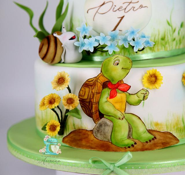 Franklin TheTurtle Cake