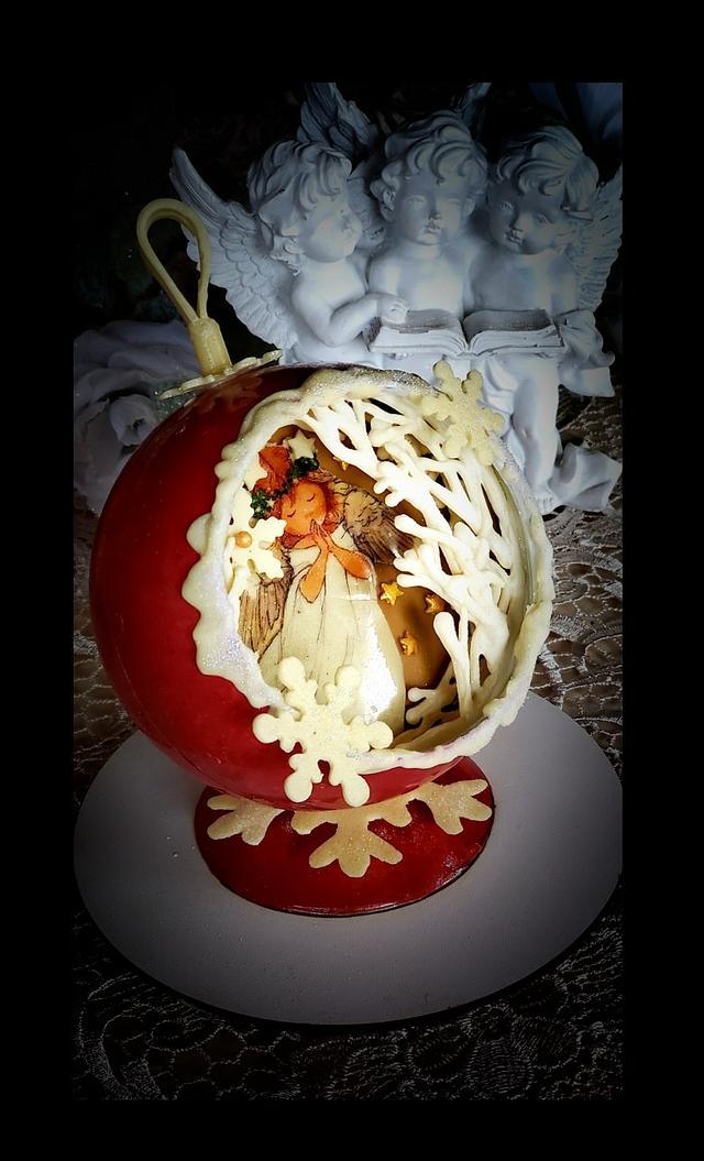 CHOCOLATE CHRISTMAS ANGEL