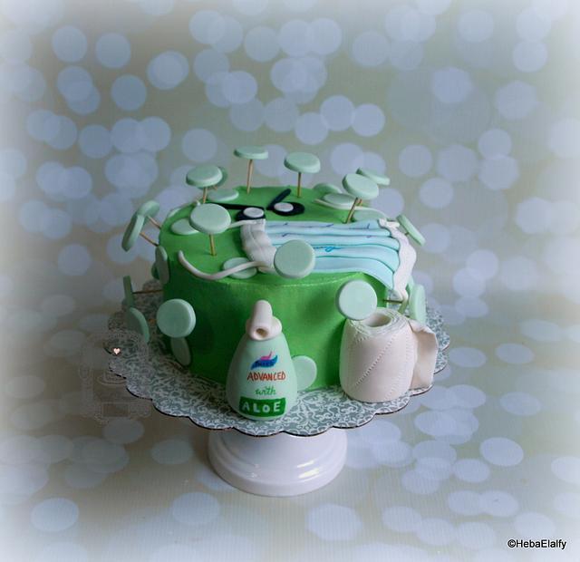 Emily's 16th birthday corona virus cake