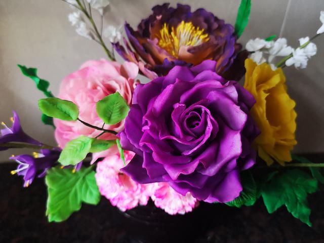 Ricepaste Flowers arrangement