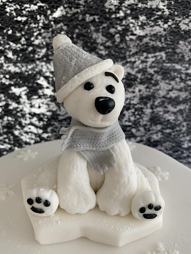 Christmas Polar Bear.