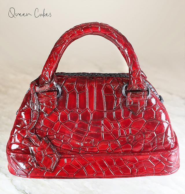 Fashionable  bag cake