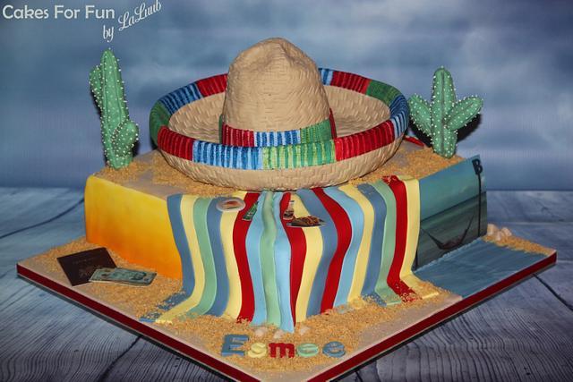 sombrero _ mexico cake