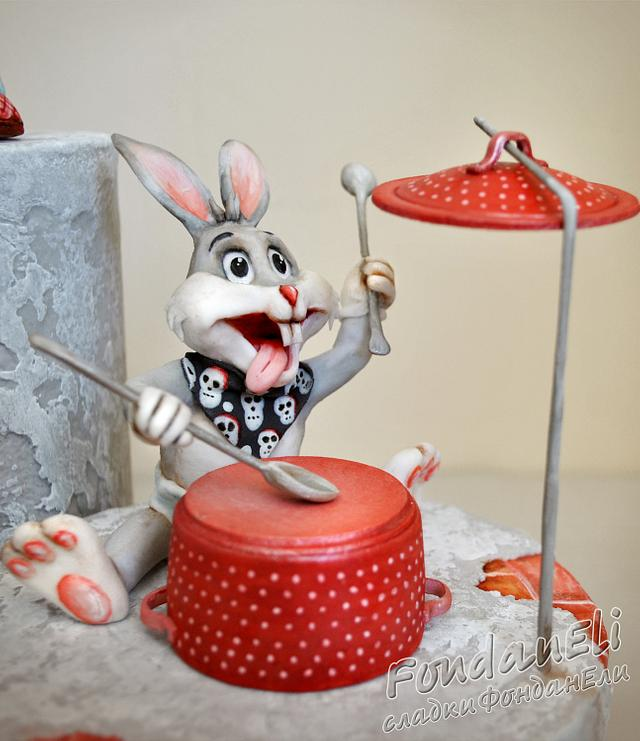 Bugs Bunny - An 80 Carrot Anniversary - Sugarcraft Collaboration