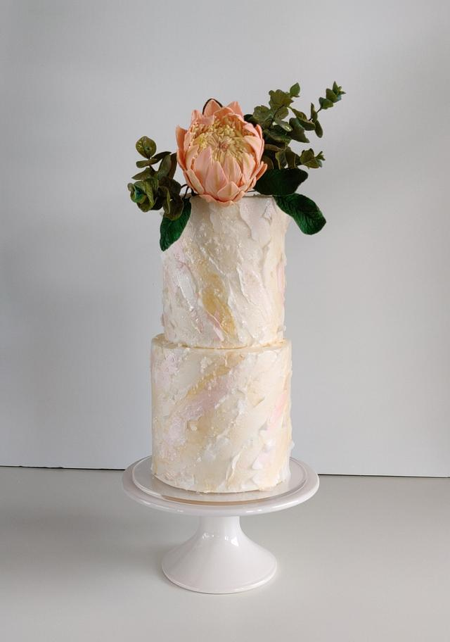 Wafer Paper Texture and Sugar Flowers