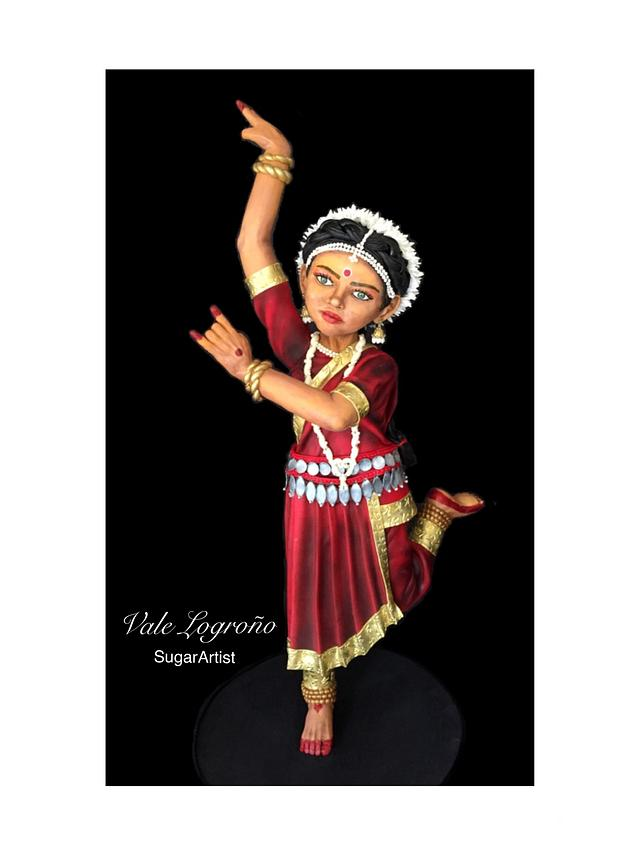My dancing little girl