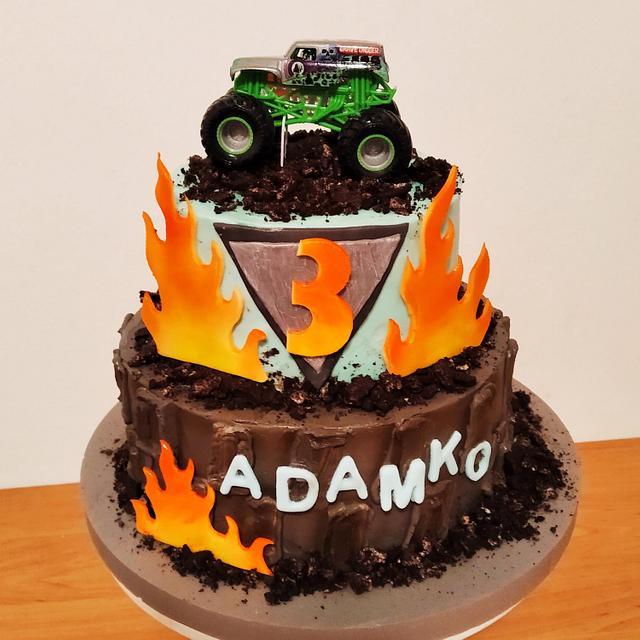 Monsterjam cake