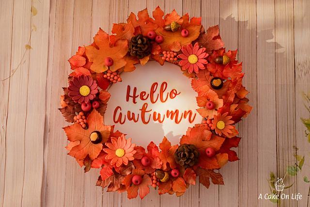 Celebrating The colours Of Autumn