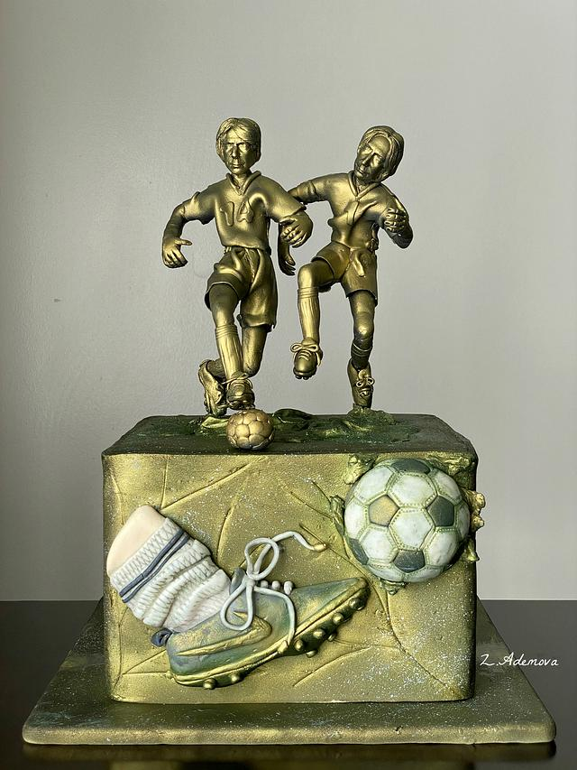 Vintage Soccer (Football ) Cake