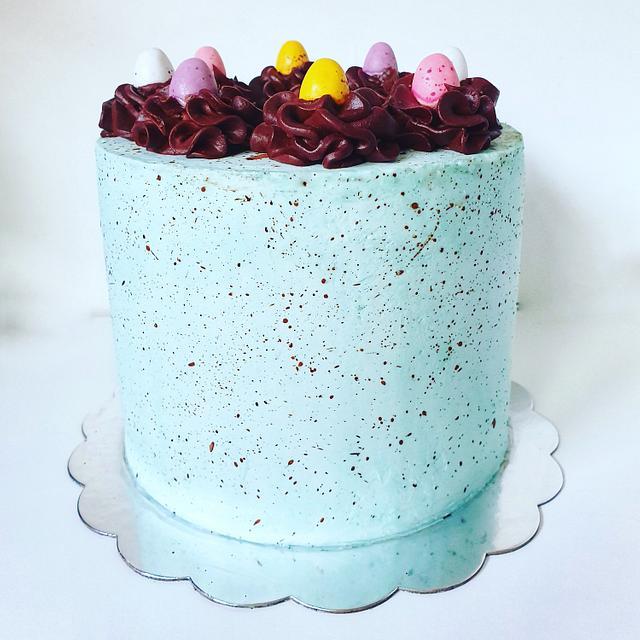 Speckled Easter Cake