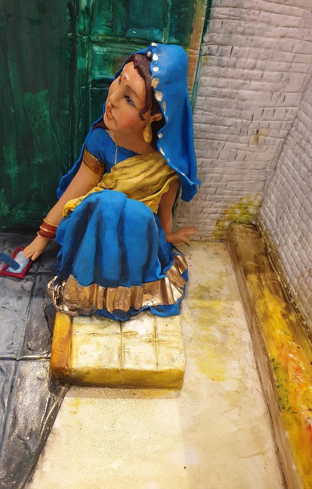 india lady