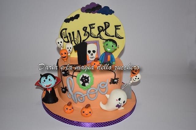 Halloween cake baby