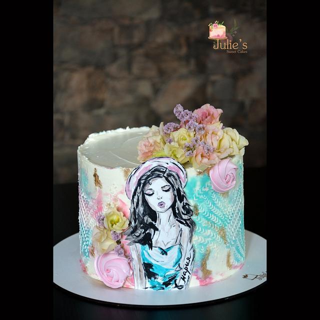 Sweet 16 Bday cake :)