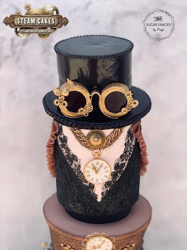 SteampunkCouture Cake