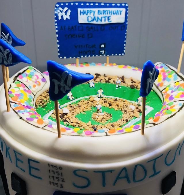 Pleasing Baseball Birthday Cake Cake By Mermade Cakesdecor Birthday Cards Printable Inklcafe Filternl
