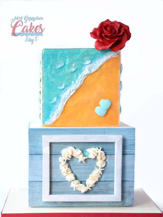 Beach Theme Valentine's Day