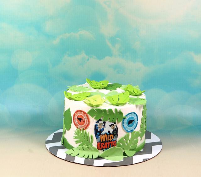 Brilliant Wild Kratts Cake Cake By Soods Cakesdecor Personalised Birthday Cards Akebfashionlily Jamesorg