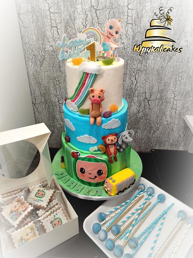 Jonny Jon birthday Cake