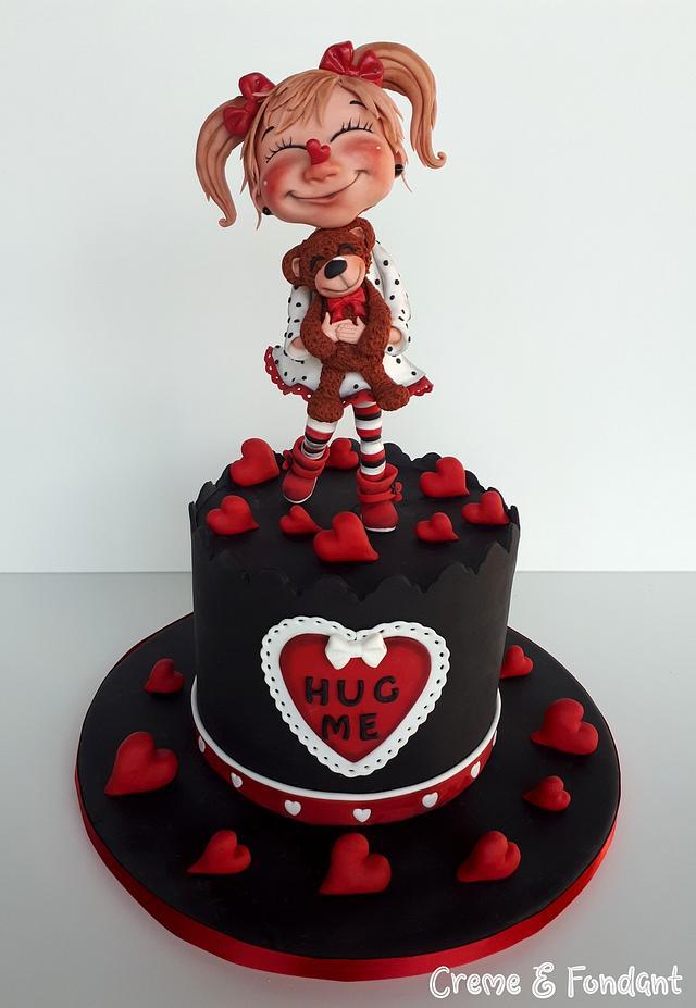 Happy Valentine´s Day Cake