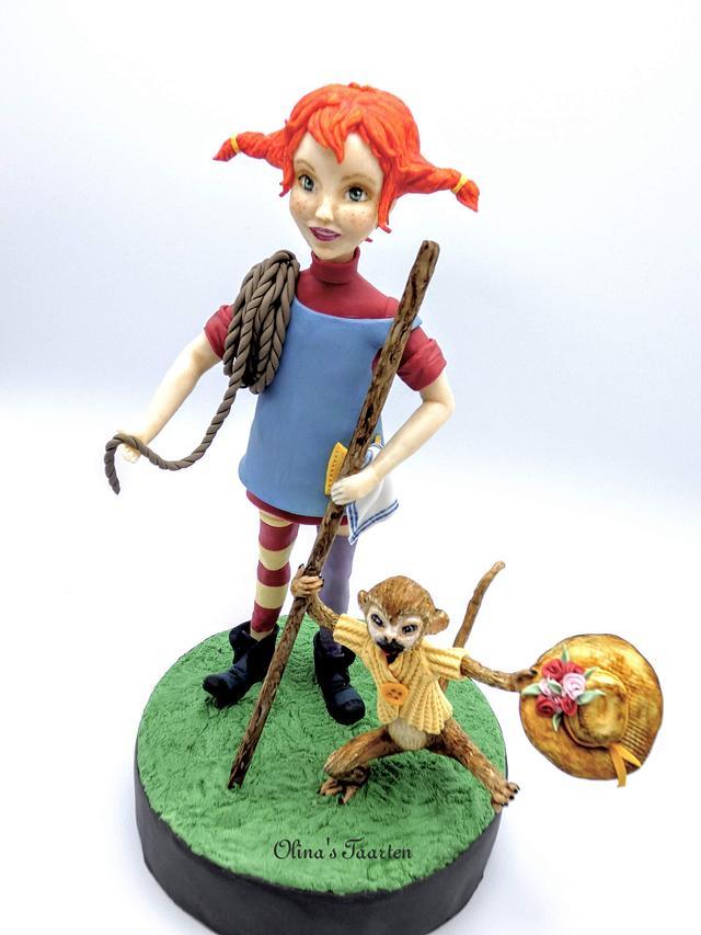 """Pippi """"Children's Classic Book Dreamland Challenge """" contemporary version"""