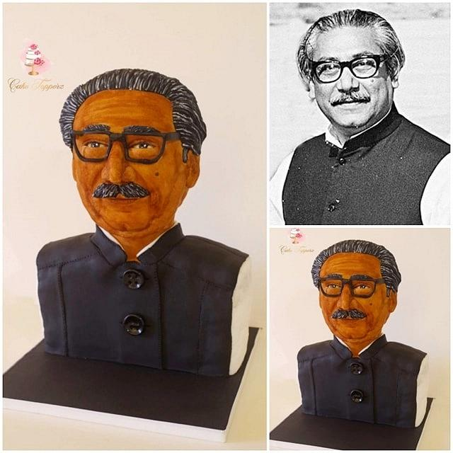 Magnificent Bangladesh- An international cake art collaboration