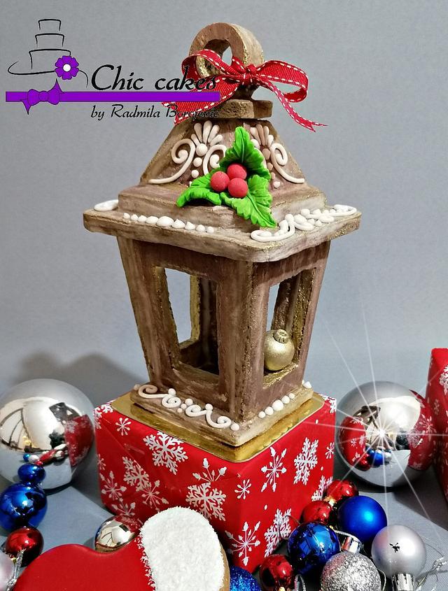 Gingerbread lantern