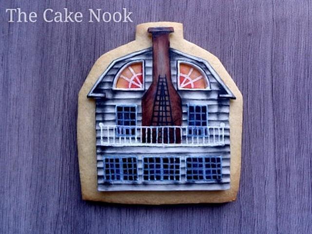 🏚 Amytiville horror house cookies. 🏚
