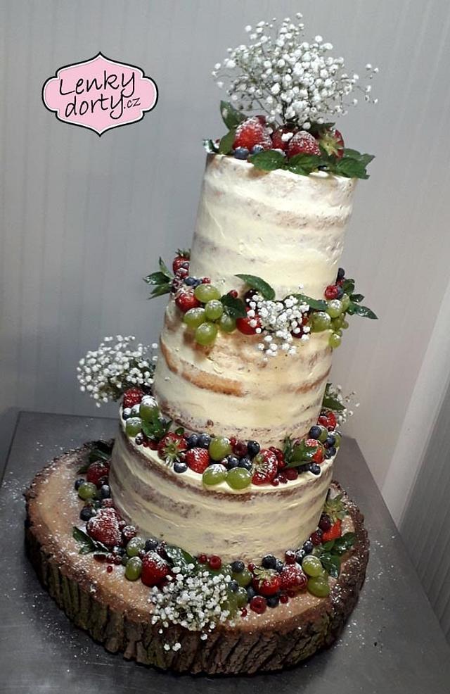 Wedding lactose-free cake