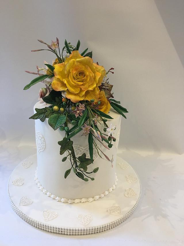 Sugar Rose display