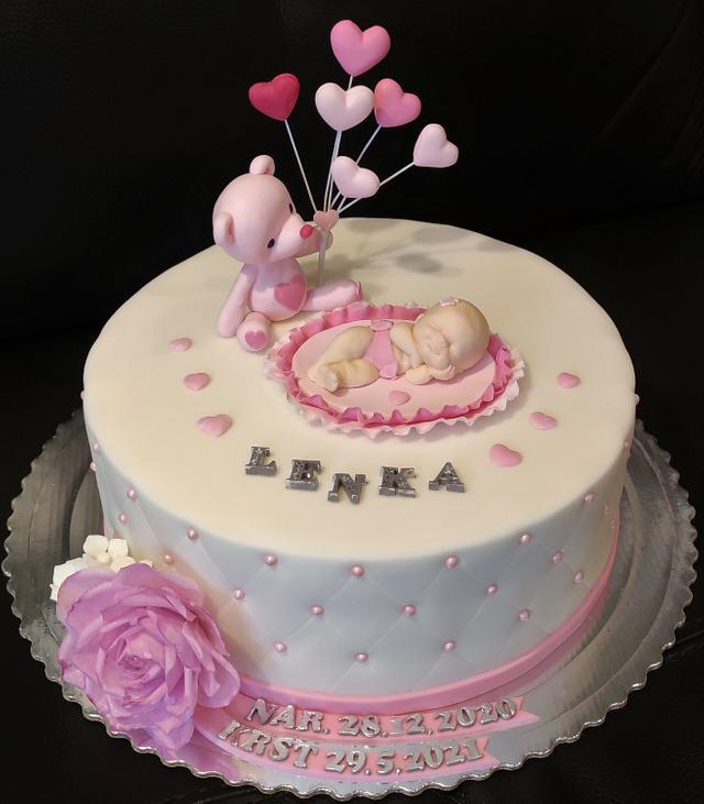 Christening cake for Lenka